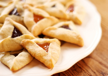 Get the original iteration of the hamantaschen (often filled with prunes, poppyseeds, or almond paste) at Kveller
