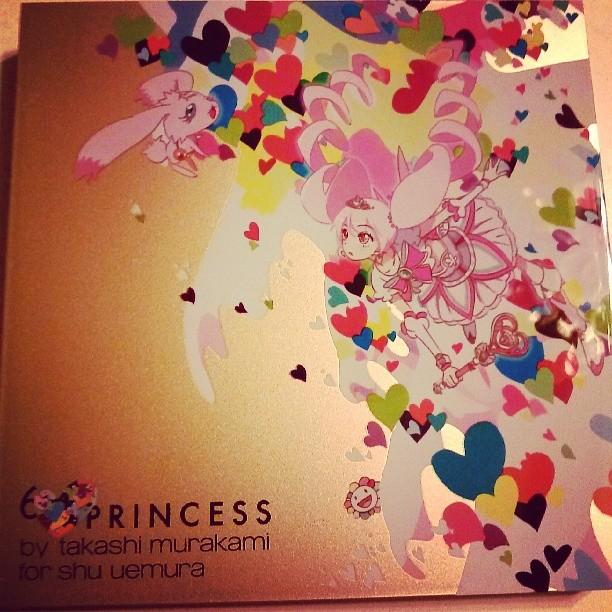Shu Uemura Princess collection by Takashi Murakami #marriedmysugardaddy