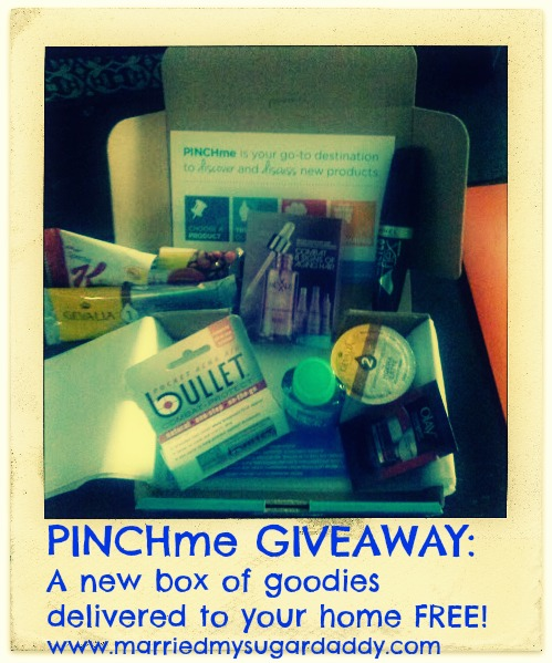 PINCHme GIVEAWAY:  A new box of goodies delivered to your home FREE! www.thestatenislandfamily.com