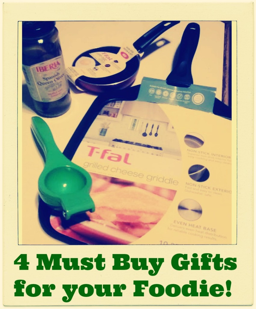 4 Must Buy Gifts for your Foodie!