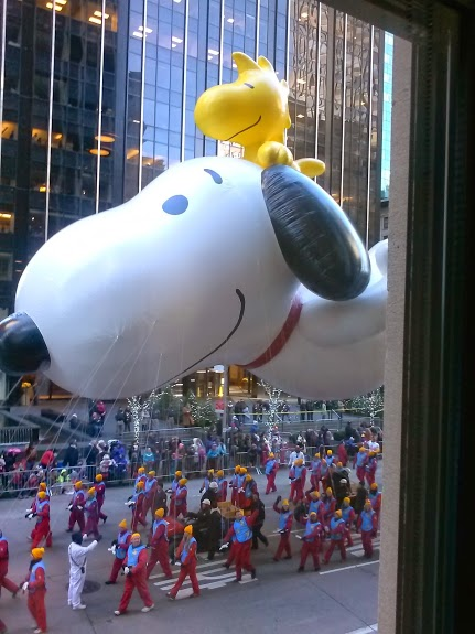 5 things I learned about my marriage after getting up at 4 am to go to the Macy's Thanksgiving Day Parade