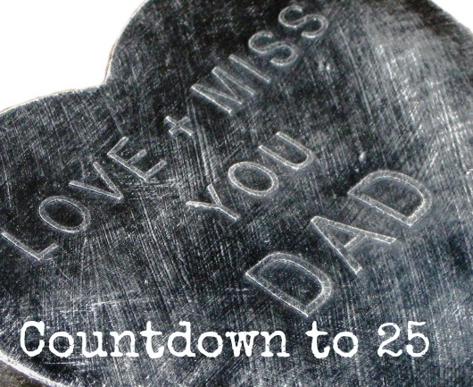 Countdown to 25