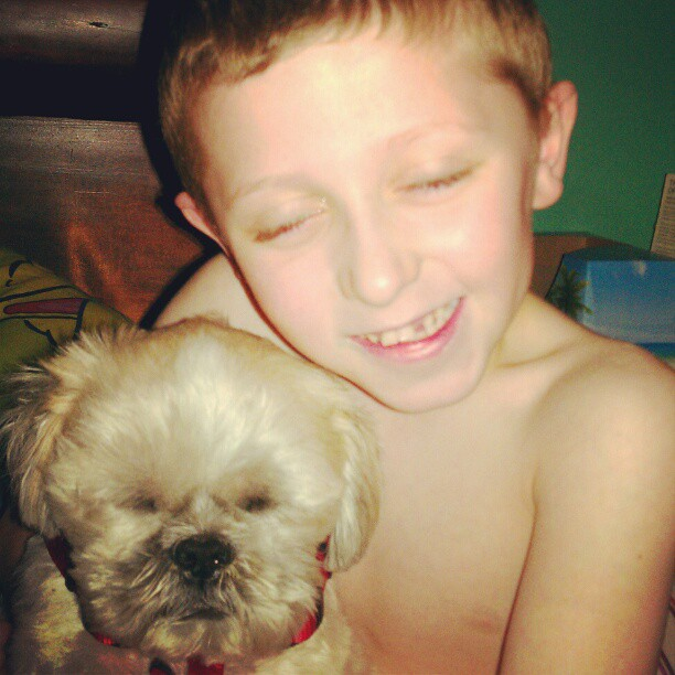 Louie's Legacy Animal Rescue GAVE my son the brother he always wanted!