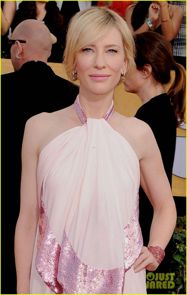 Cate Blanchett - SAG Awards 2014 Red Carpet photo courtesy of Just Jared