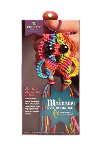 CRAFT-TASTIC The Macrame Owl Necklace