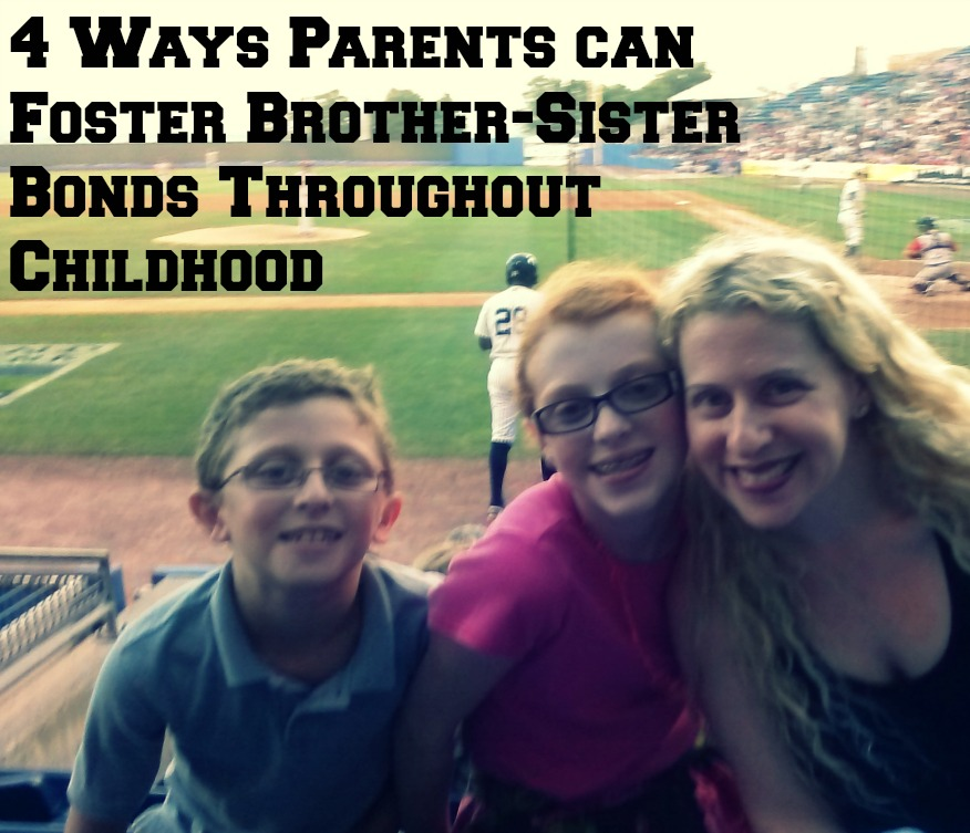 4 Ways Parents can Foster Brother-Sister Bonds Throughout Childhood