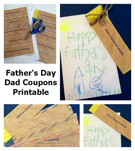 Help Your Kids Celebrate Their Fathers with An Easy To Make Dad Coupon Book