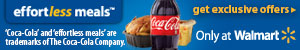 Too hot to COOK This Summer -That's why you need Coca Cola and Walmart's #EFFORTLESSMeals #SPON