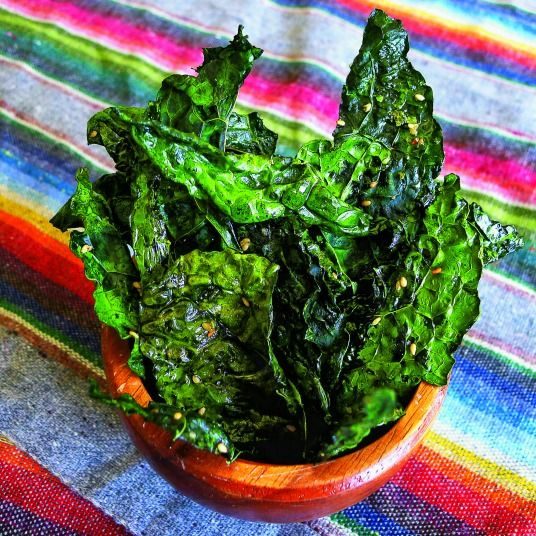 This recipe for Kale Crisps is DELISH!