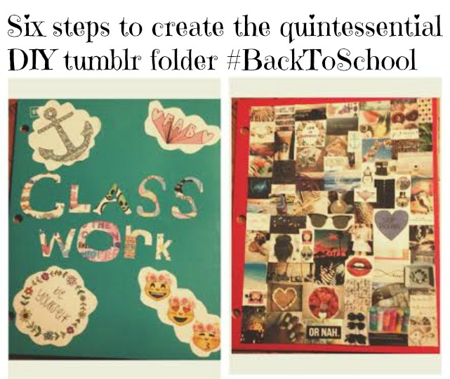 Do it Yourself: Create the quintessential DIY Tumblr folder #BackToSchool