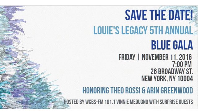 Get your Ticket to The Louie's Legacy #BlueGala and Help Rescue Homeless Furbabies #AdoptDontShop