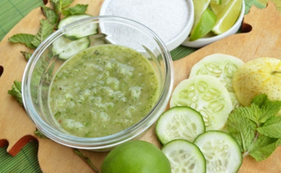 Recipe for a Light Cucumber Shell Mask
