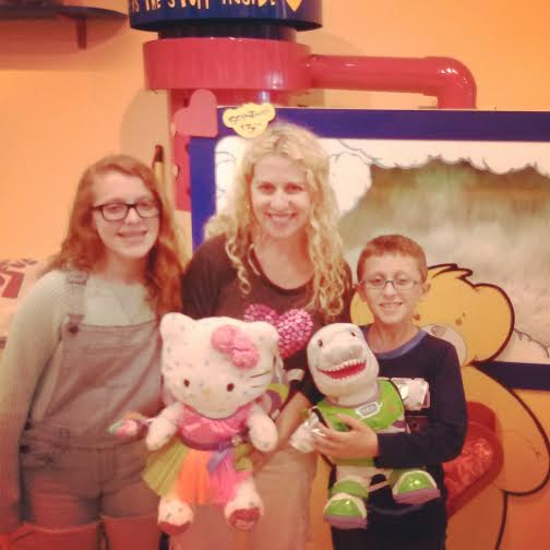 We are taking home Starbust and Neal Armstrong thanks to Build- A-Bear