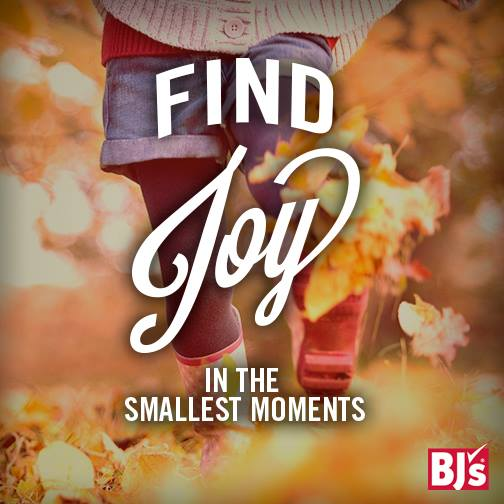 This Holiday let BJ's Help you Find JOY in the Smallest Moments