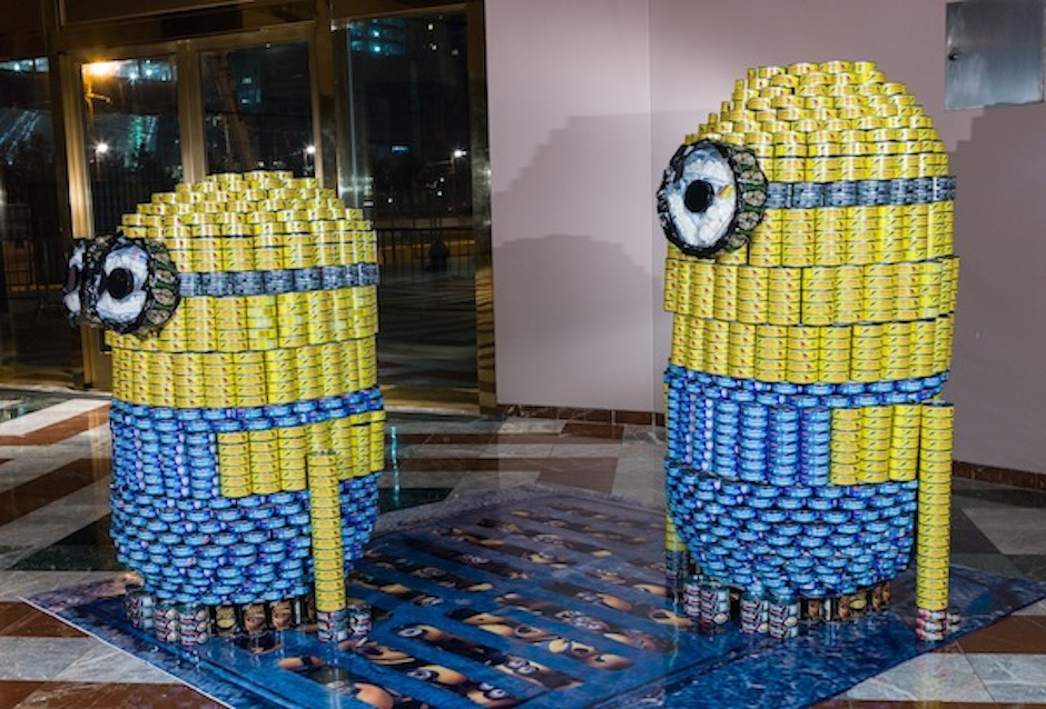 Picture Courtesy of  www.CanstructionNY.org