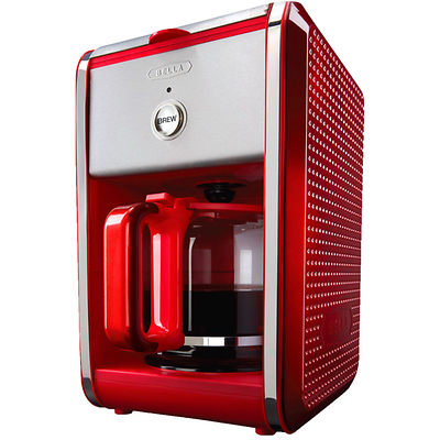 Red Bella DOTS 12-Cup Coffeemaker
