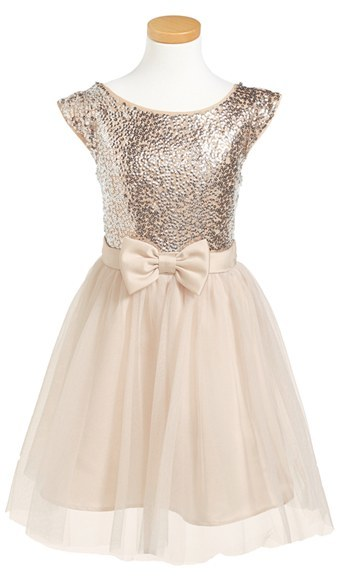 Zunie Sequined Party Dress (Big Girls)