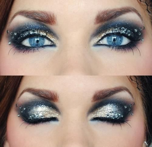 15 party eye makeup looks for 2014 from Pretty Designs