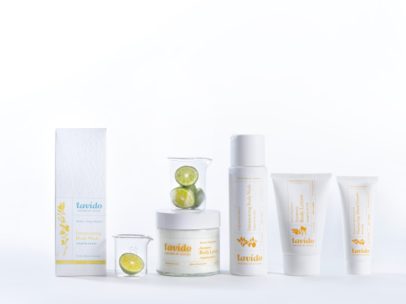 Lavido Citrus Body care line