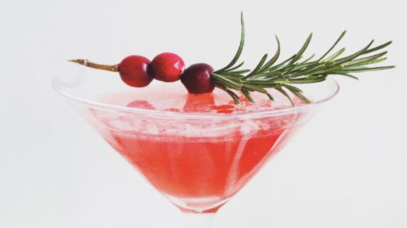 Winter Cranberry Martini