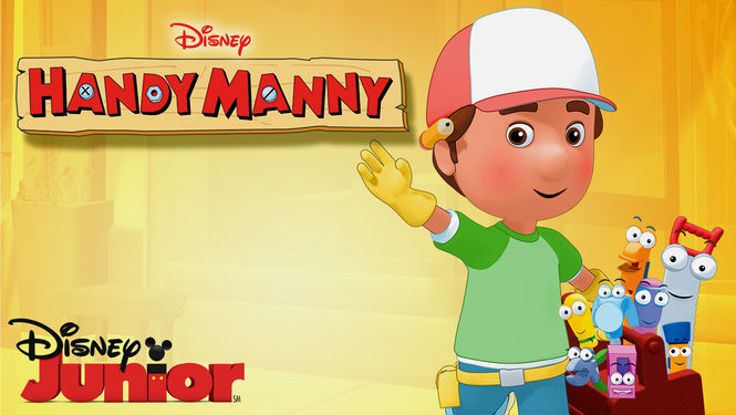Encourage your little kids to Build and fix things with Handy Manny