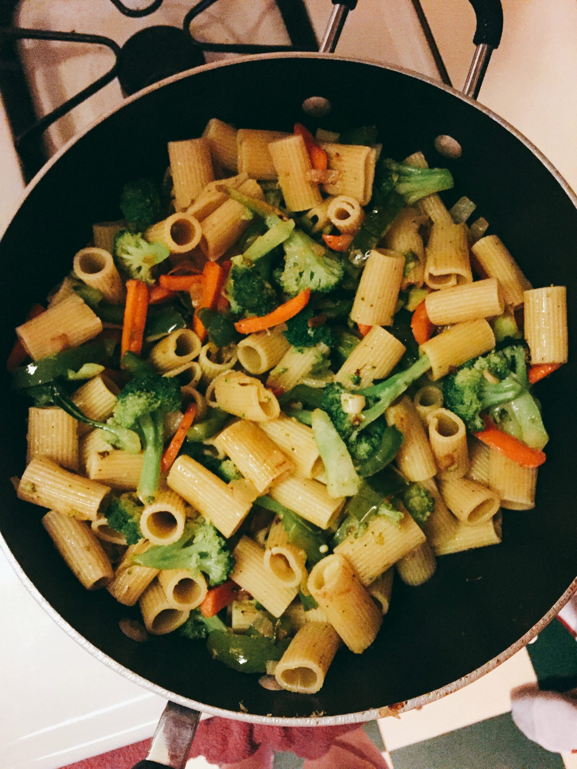 Create A Stir with this Easy Pasta Primavera