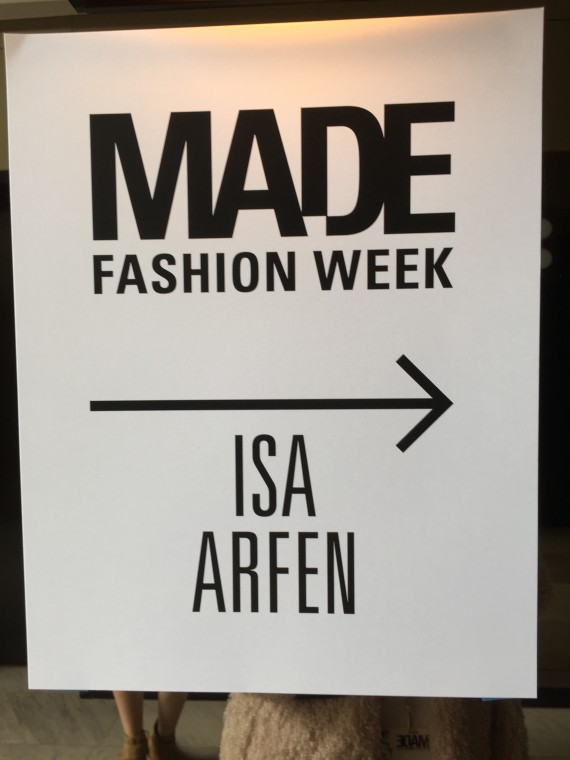 New York Fashion Week with Verizon #FiosNY and Isa Arfen because I'm all about #WhyNotWednesday