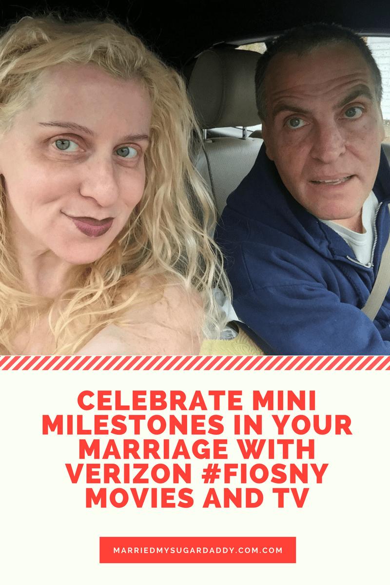 Celebrate Mini Milestones in Your Marriage with Verizon #FiosNY movies and TV