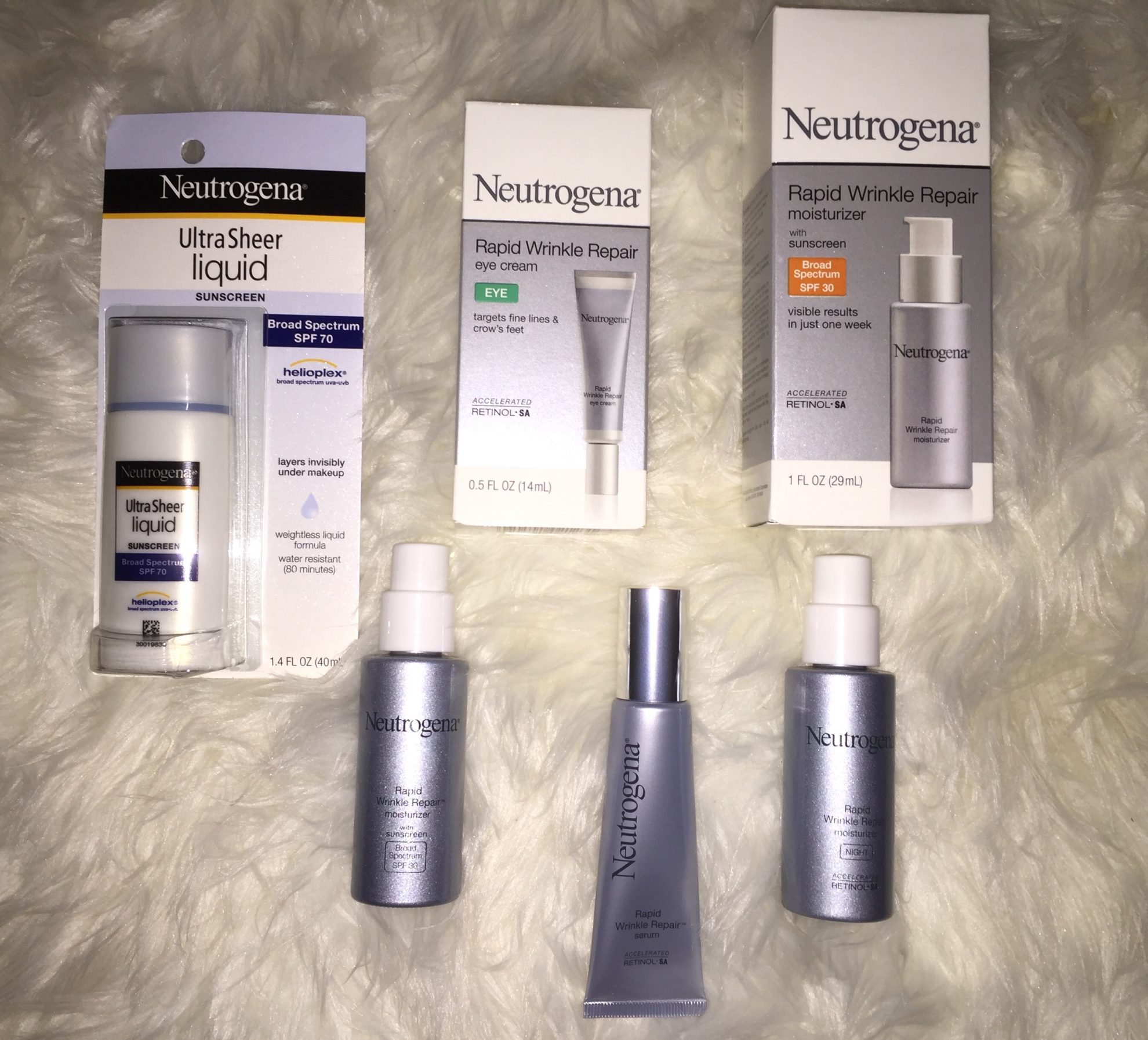 Neutrogena Rapid Wrinkle Repair Will Reduce Fine Lines in Seven Days & a Giveaway