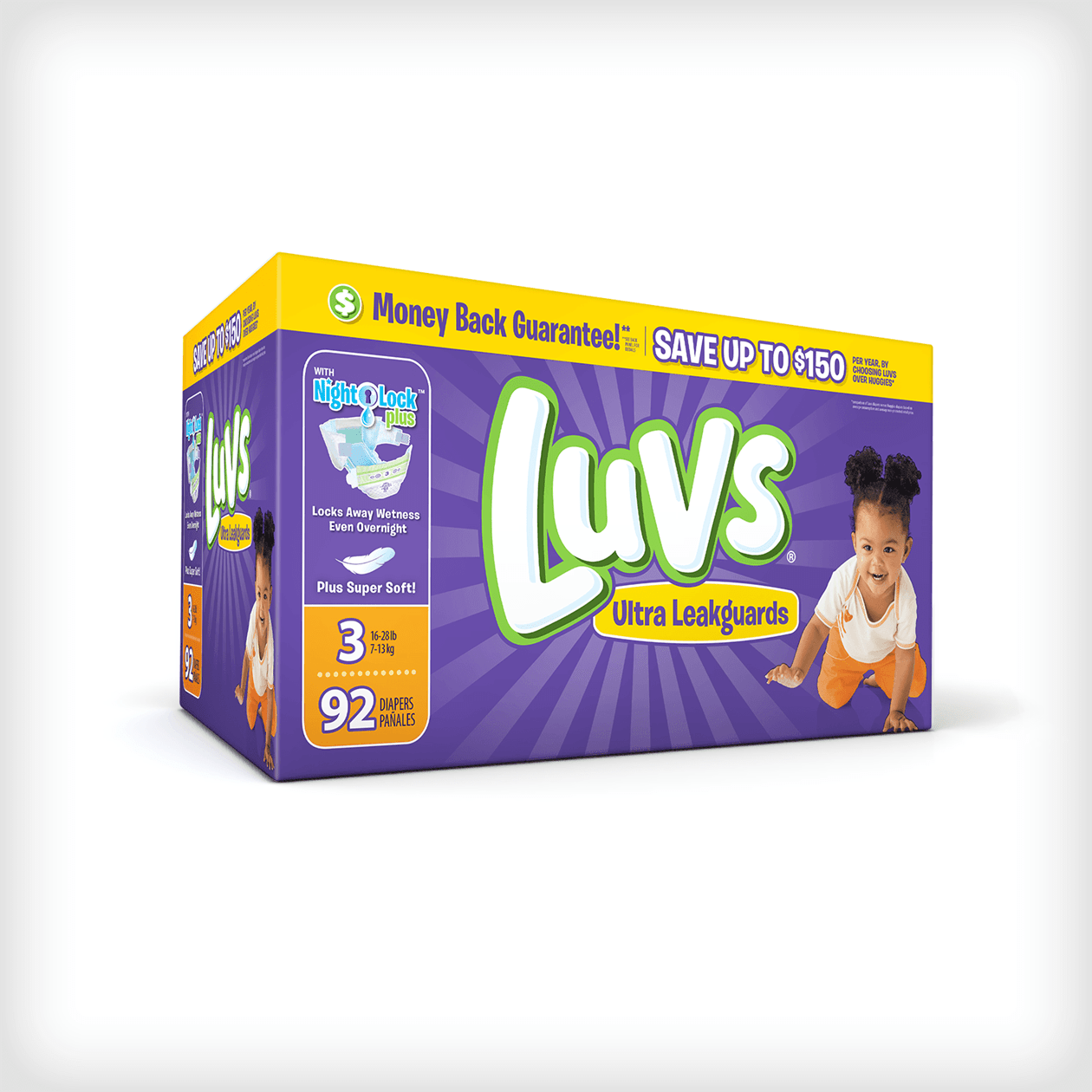 Luvs Is the Only Diaper for the No Nonsense Parent