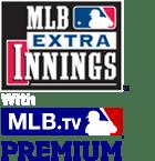 MLB and MLB Extra Innings logos