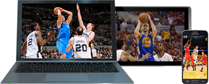 NBA on different devices