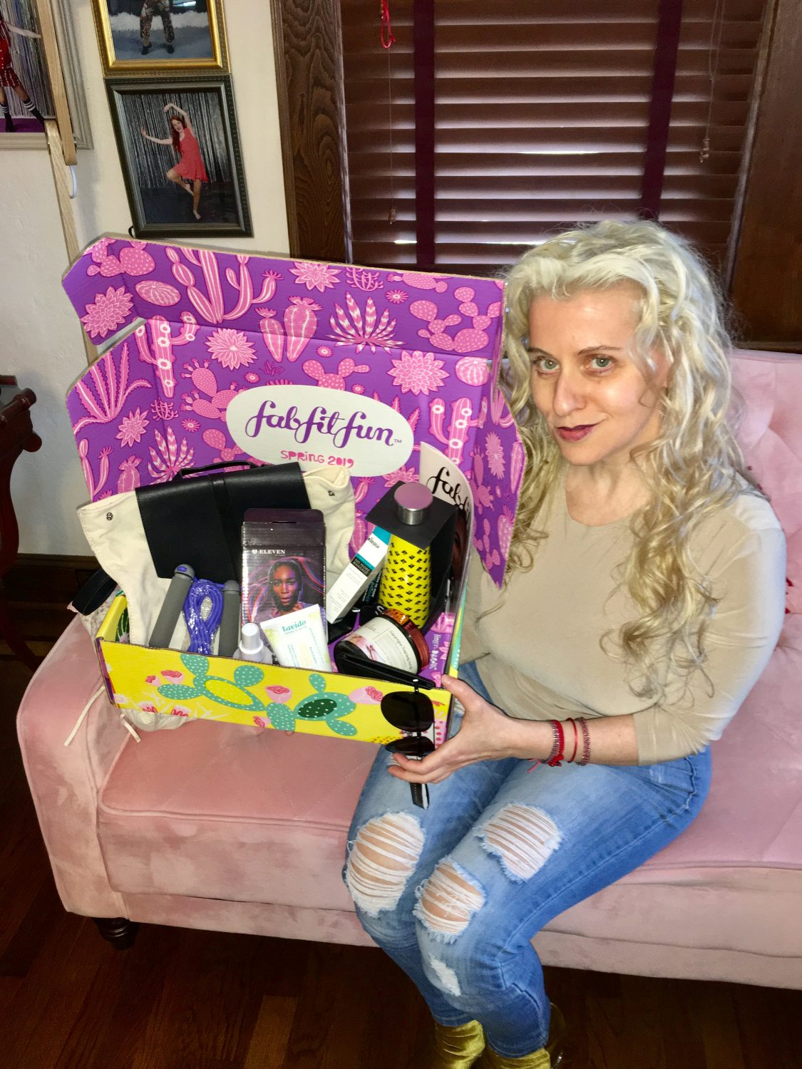 "Are you ready to get your own #fabfitfun box?! use the Coupon code ""MCHAPMAN"" to get $10 off your first box www.fabfitfun.com"