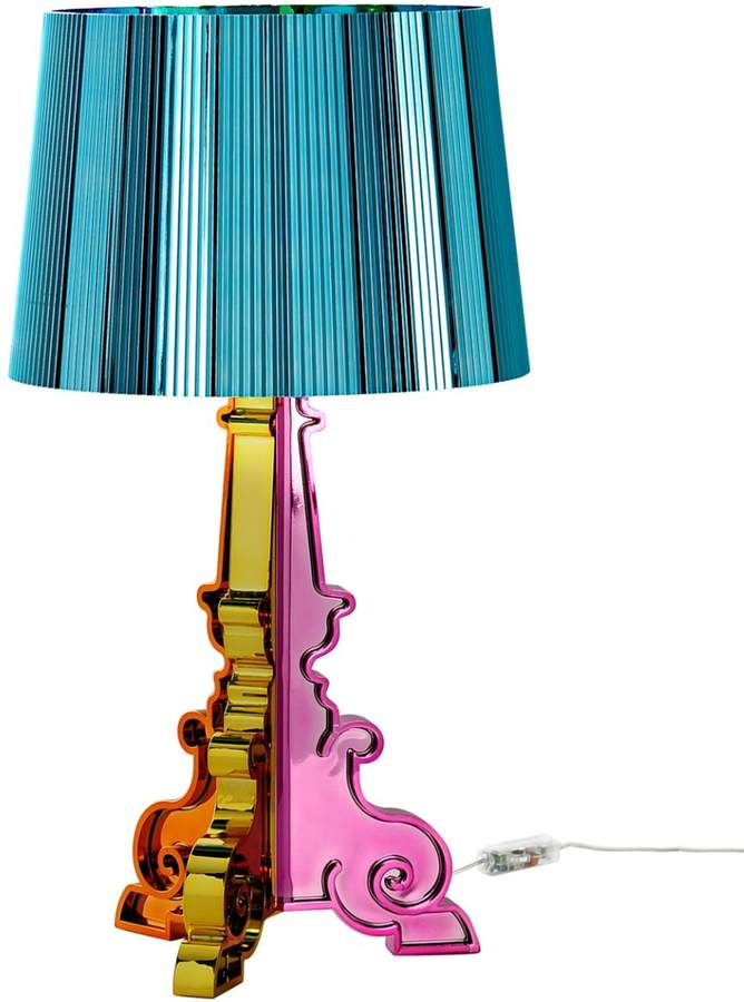Bring some Spring into your home with this Metallic Multicolor Bourgie Table Lamp