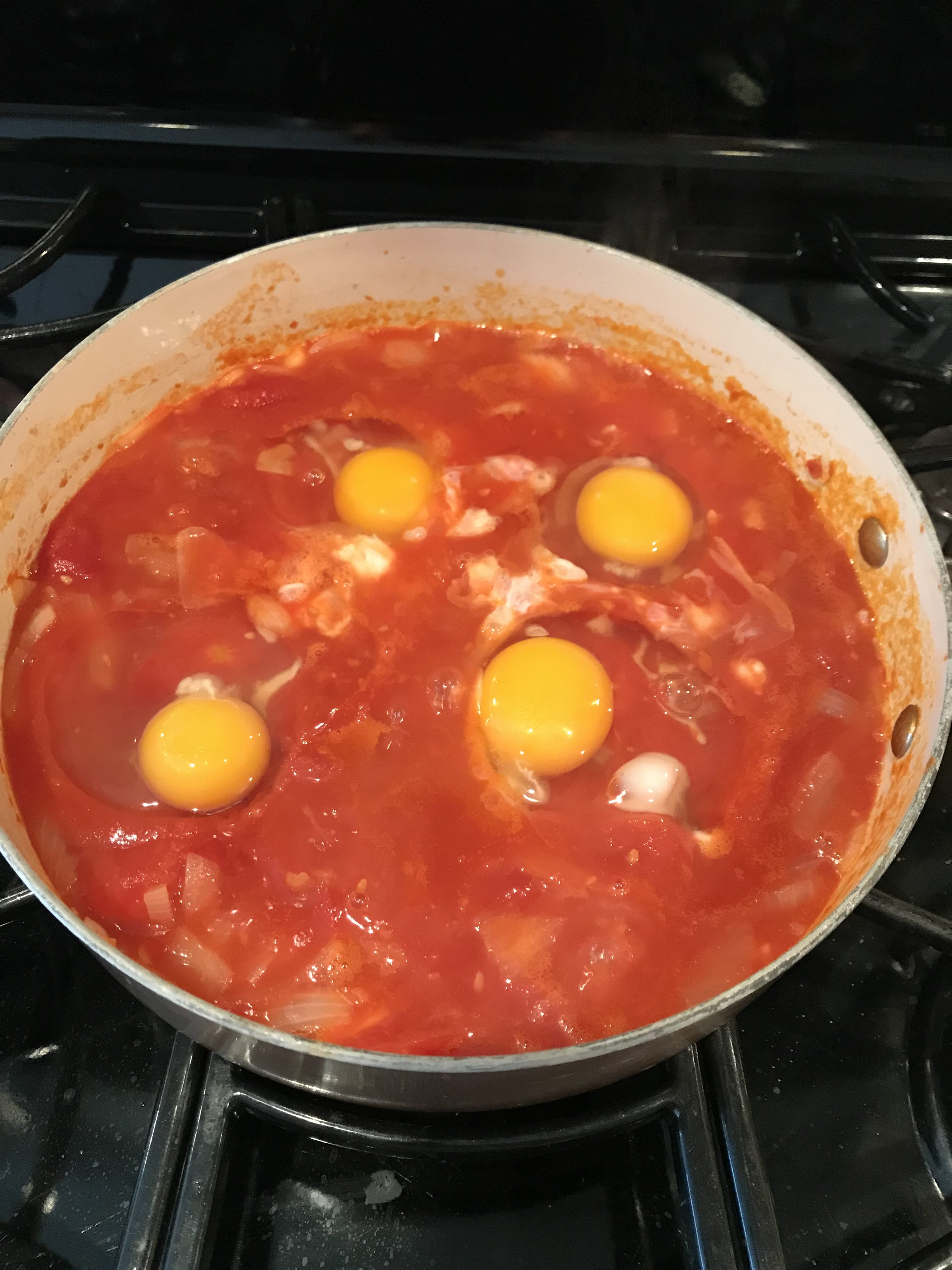 This Weight Watchers Freestyle Middle Eastern Recipe for Shakshuka is just 1 Smart Point and so DELISH