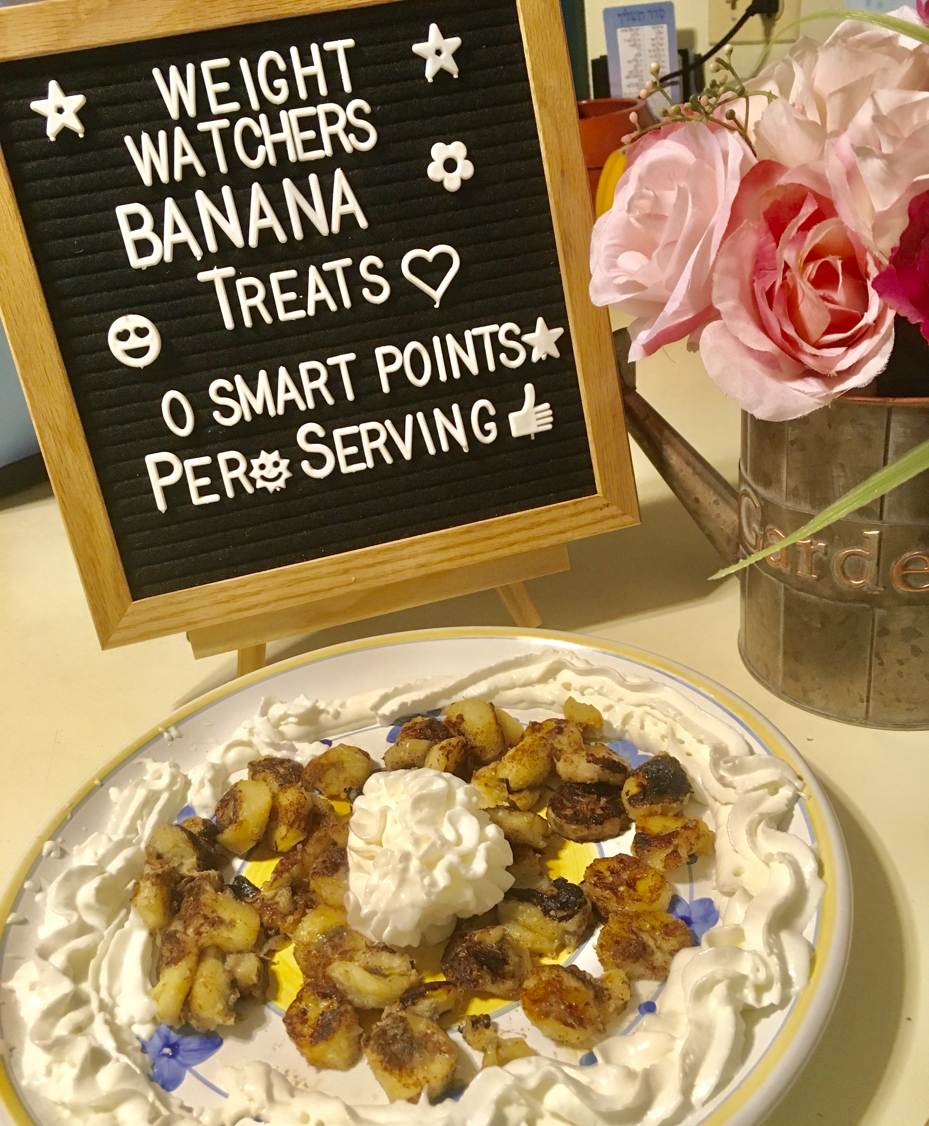Weight Watchers Banana Treats Recipe is just 0 points per serving
