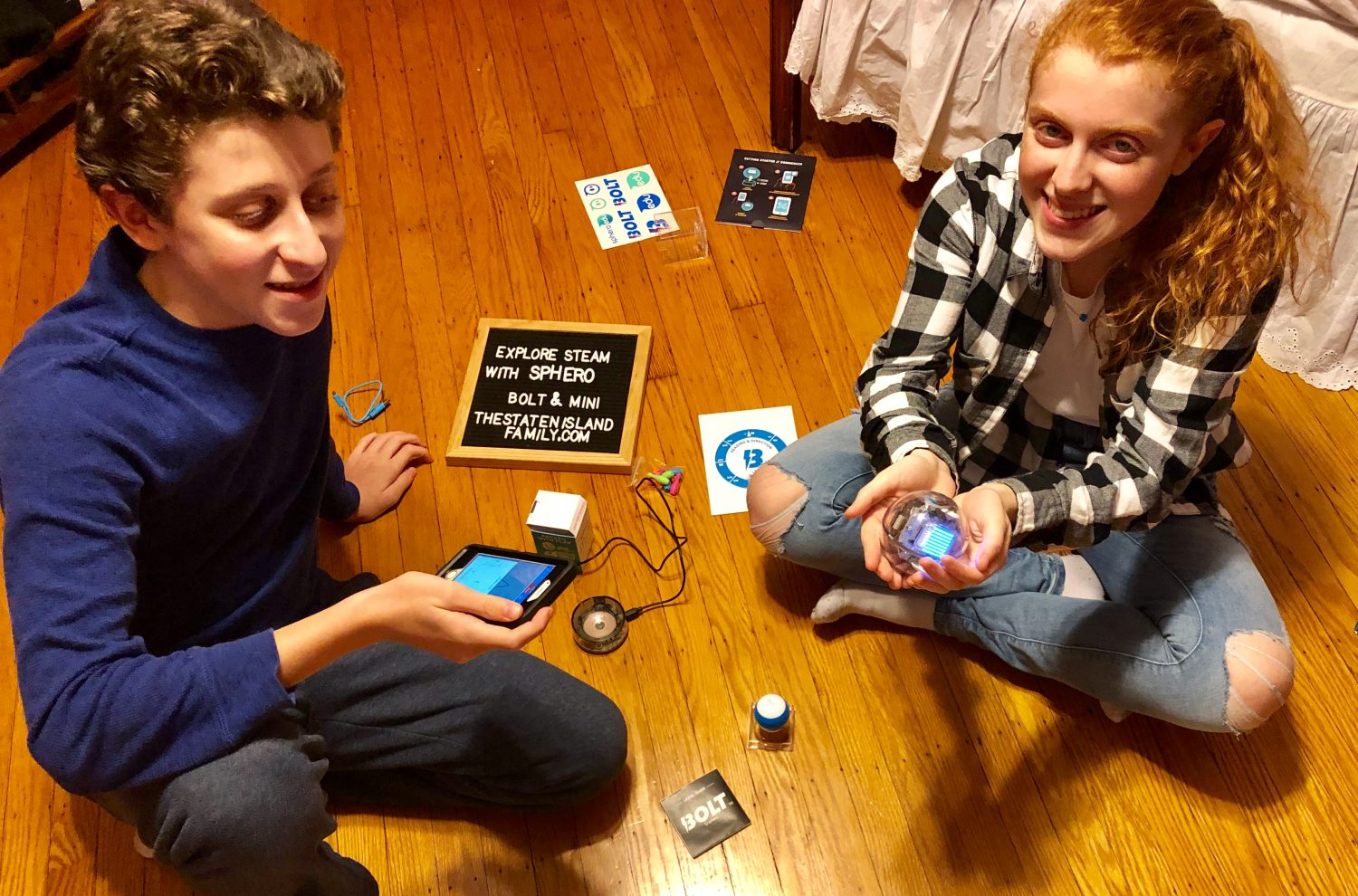 The STEAM Learning NEVER ends with Sphero BOLT and Sphero Mini