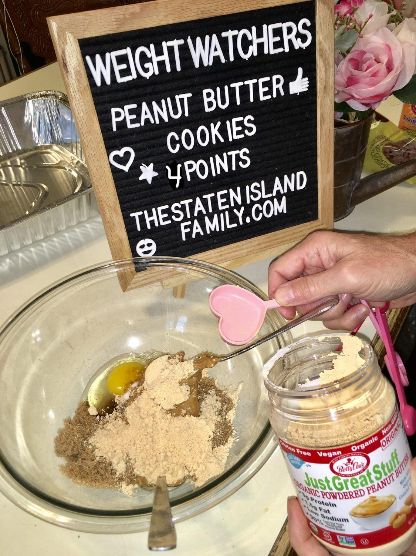 Weight Watchers Peanut Butter Cookies