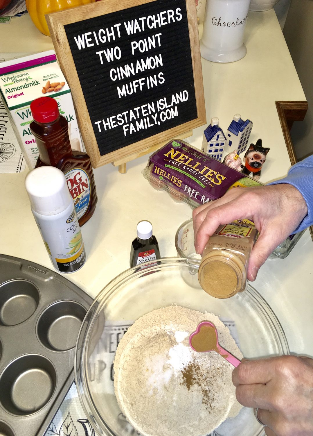 adding cinnamon to muffin recipe