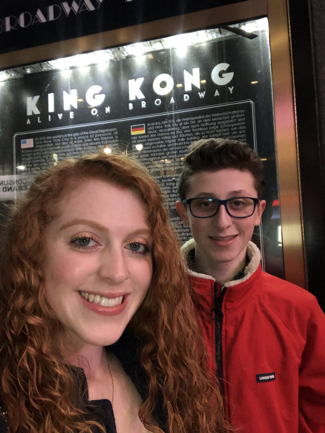King Kong has Everything you want in a Broadway Show