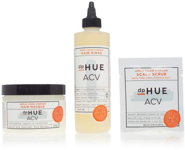 trio of hair care products formulated with apple cider vinegar and other key ingredients to optimize strength, elasticity and enhance luster, leaving hair soft, silky and vibrant looking.