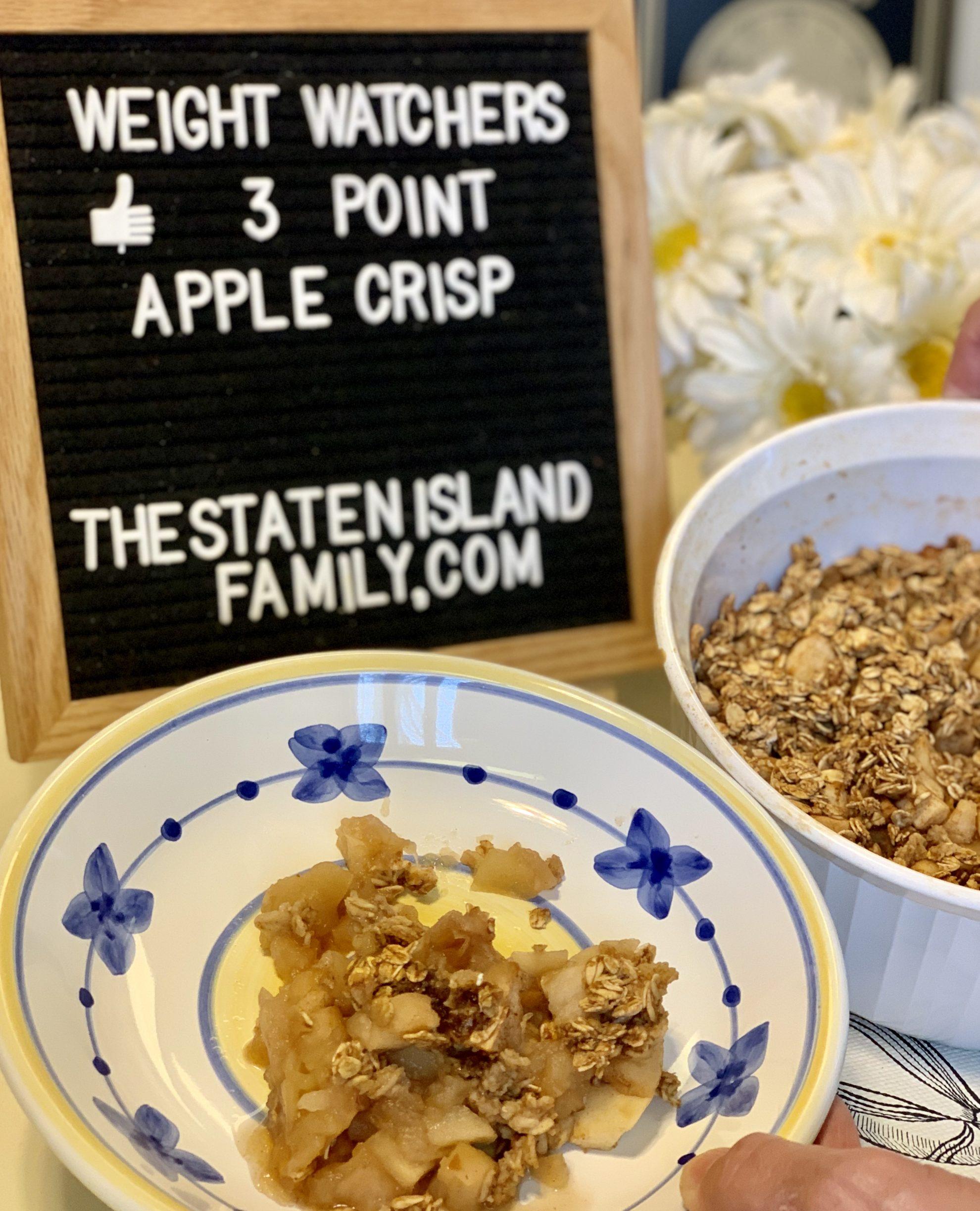 Weight Watchers Apple Crisp