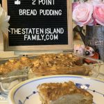 weight watchers bread pudding