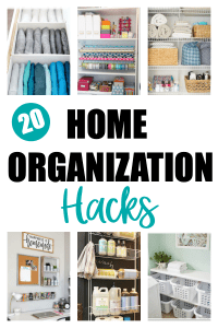 20 Home Organization Hacks