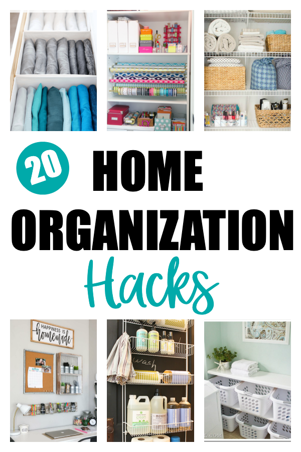 20 Home Organization Hacks