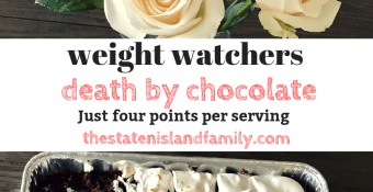 Weight Watchers Death by Chocolate Cake just four points per serving