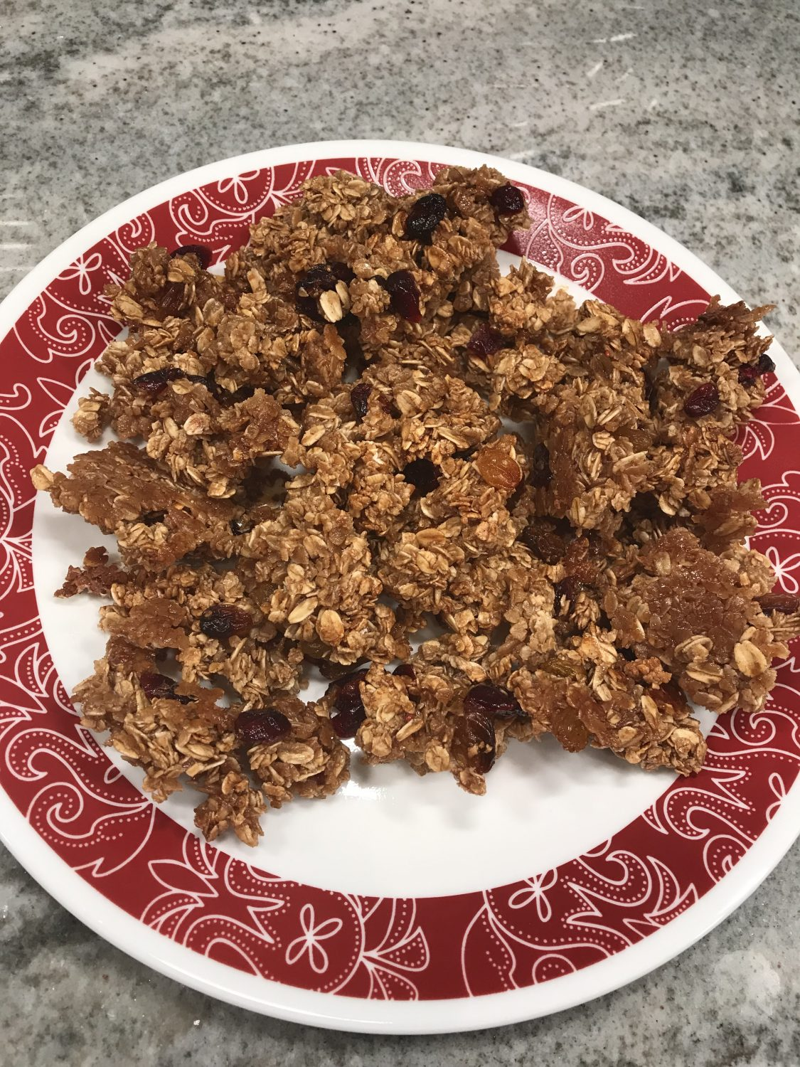 Weight Watchers Homemade Granola - four points per serving