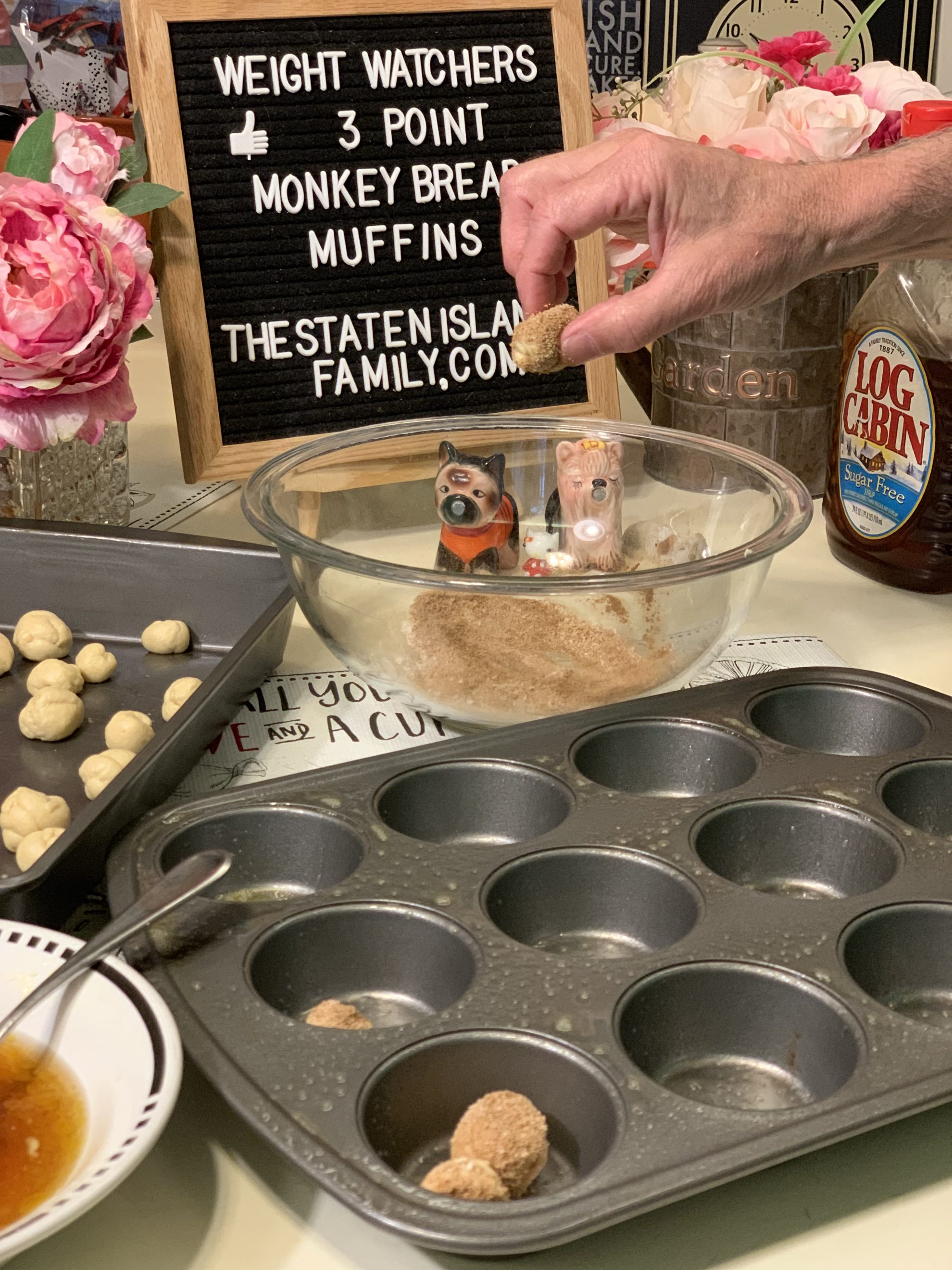 Weight Watchers Monkey Bread Muffins just 3 points per muffin