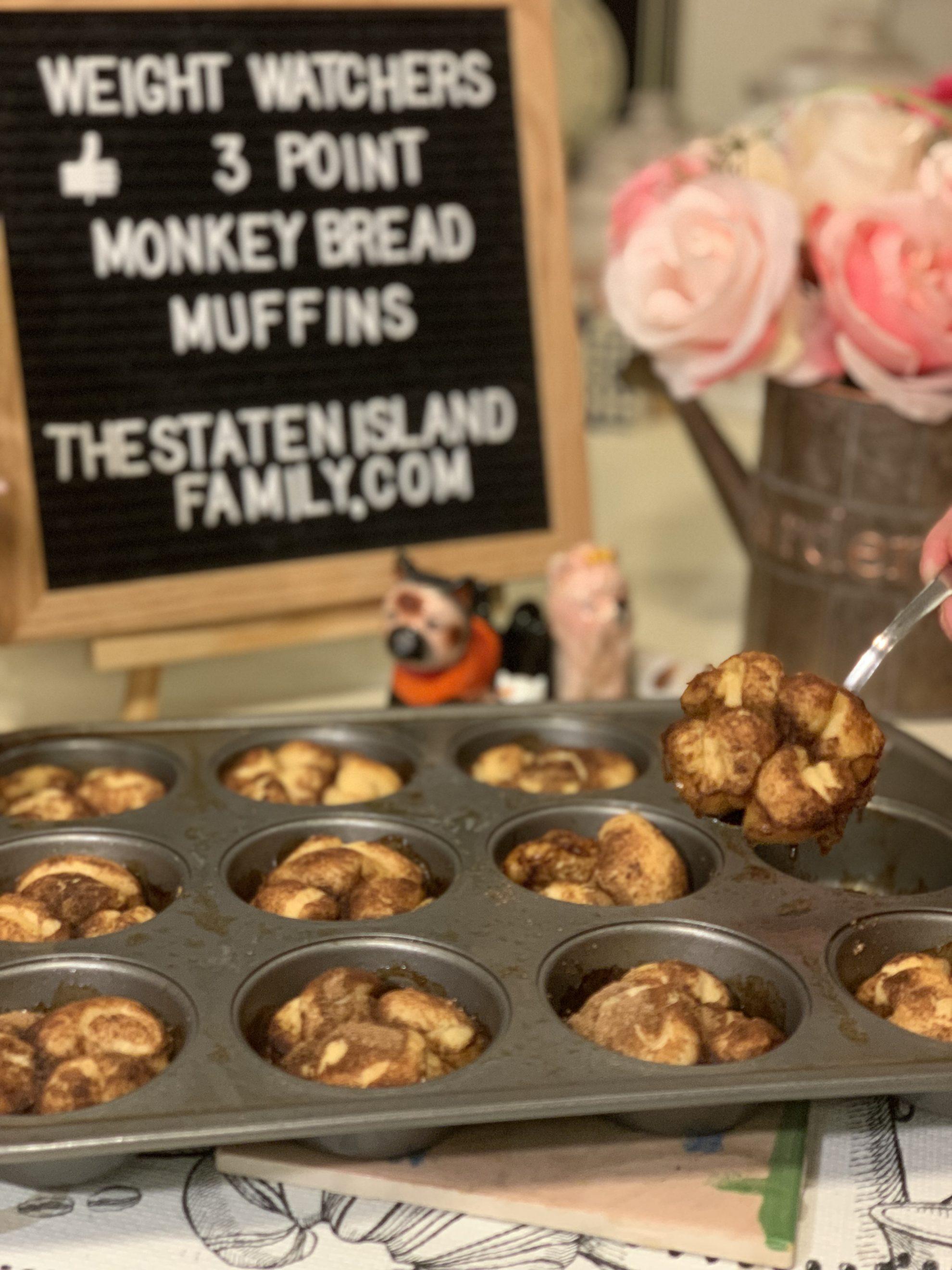 Weight Watchers Monkey Bread Muffins