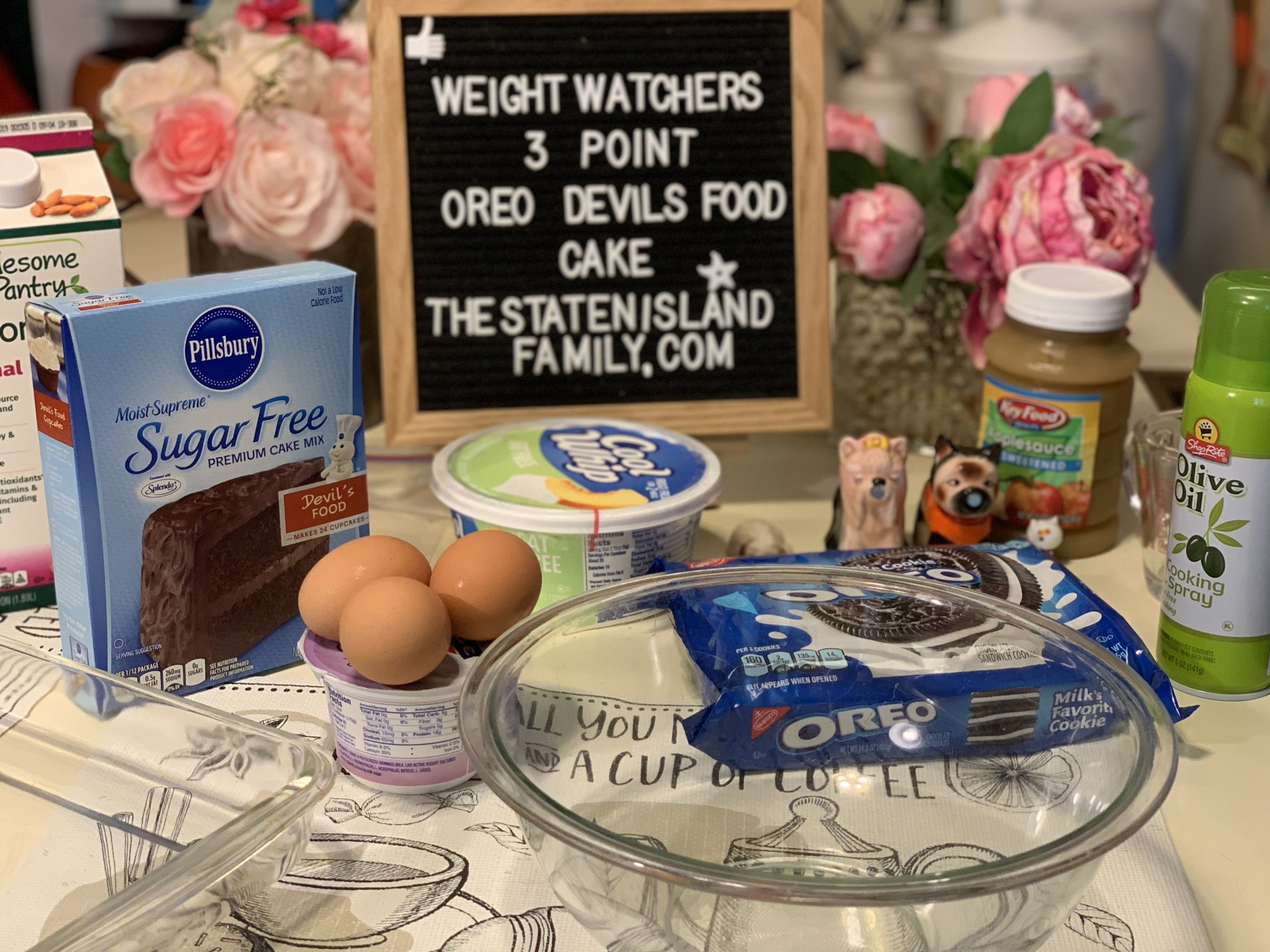Weight Watchers Oreo Devil's Food Cake - just 3 points per serving